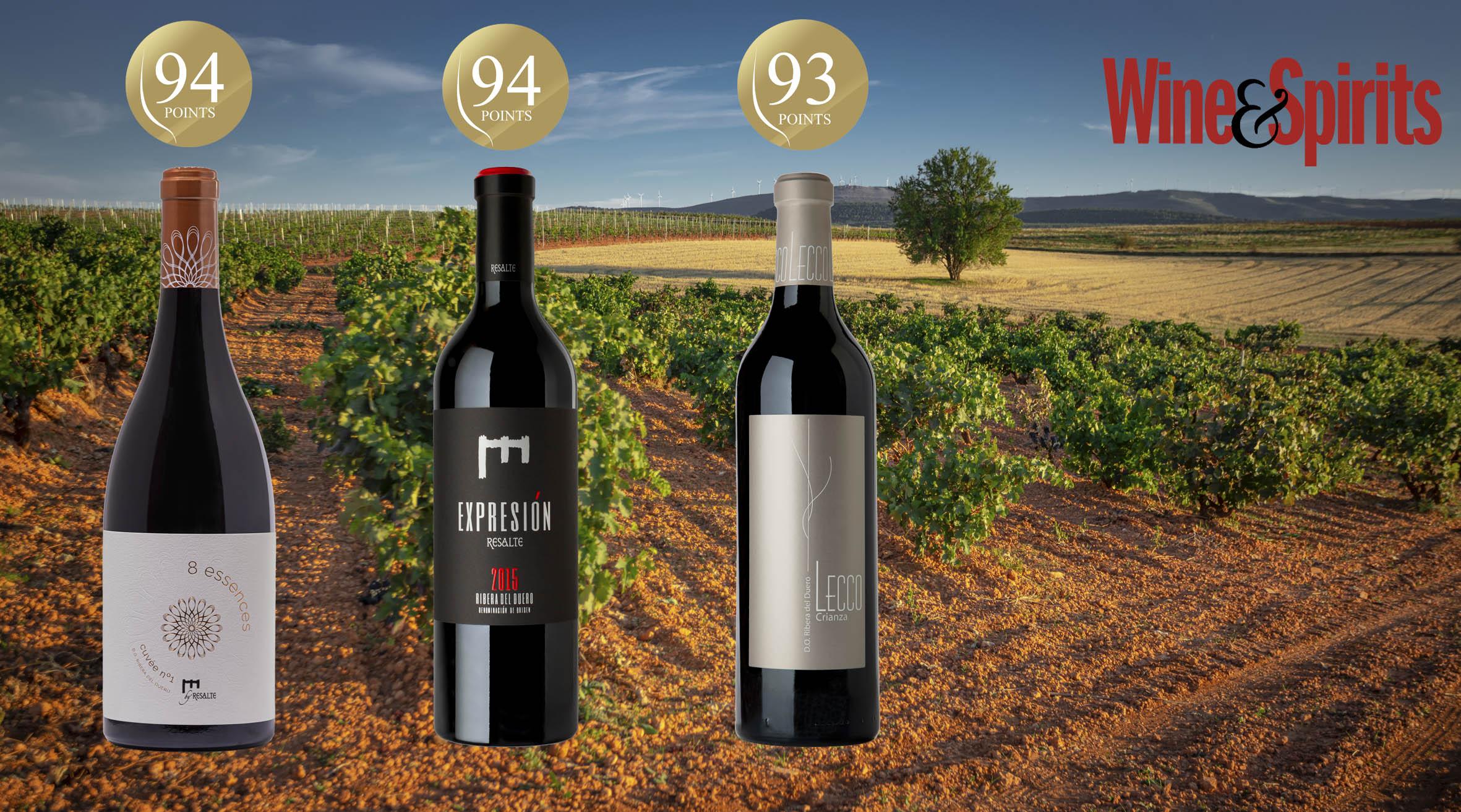 Puntuaciones Wine Spirits 2020
